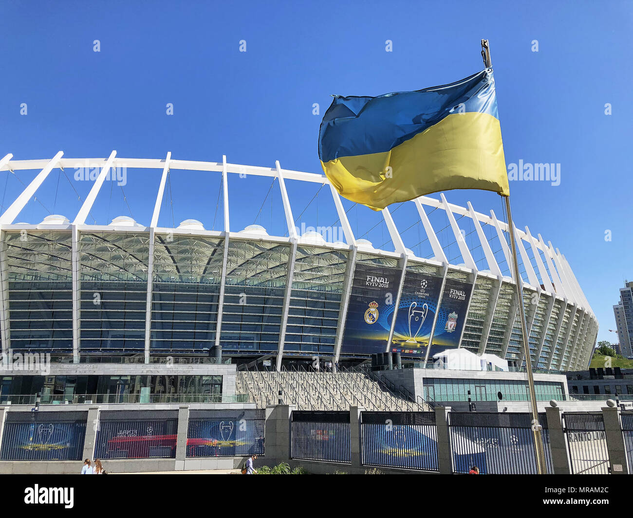 Kiev Ukaine 26 May 2018 Uefa Champions League Finale