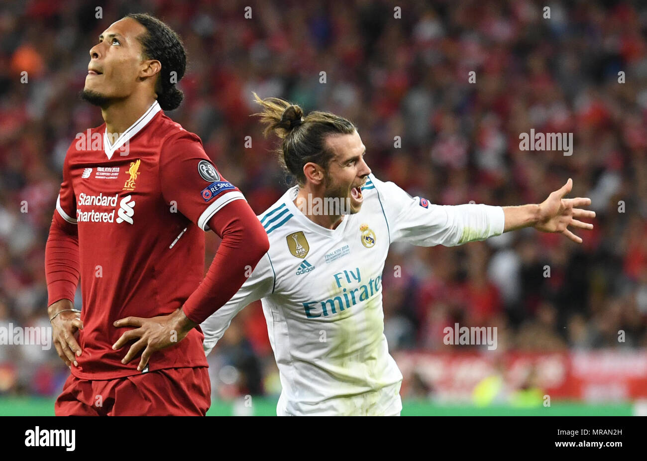 26 May 2018 Ukraine Kiev Soccer Champions League Real Madrid