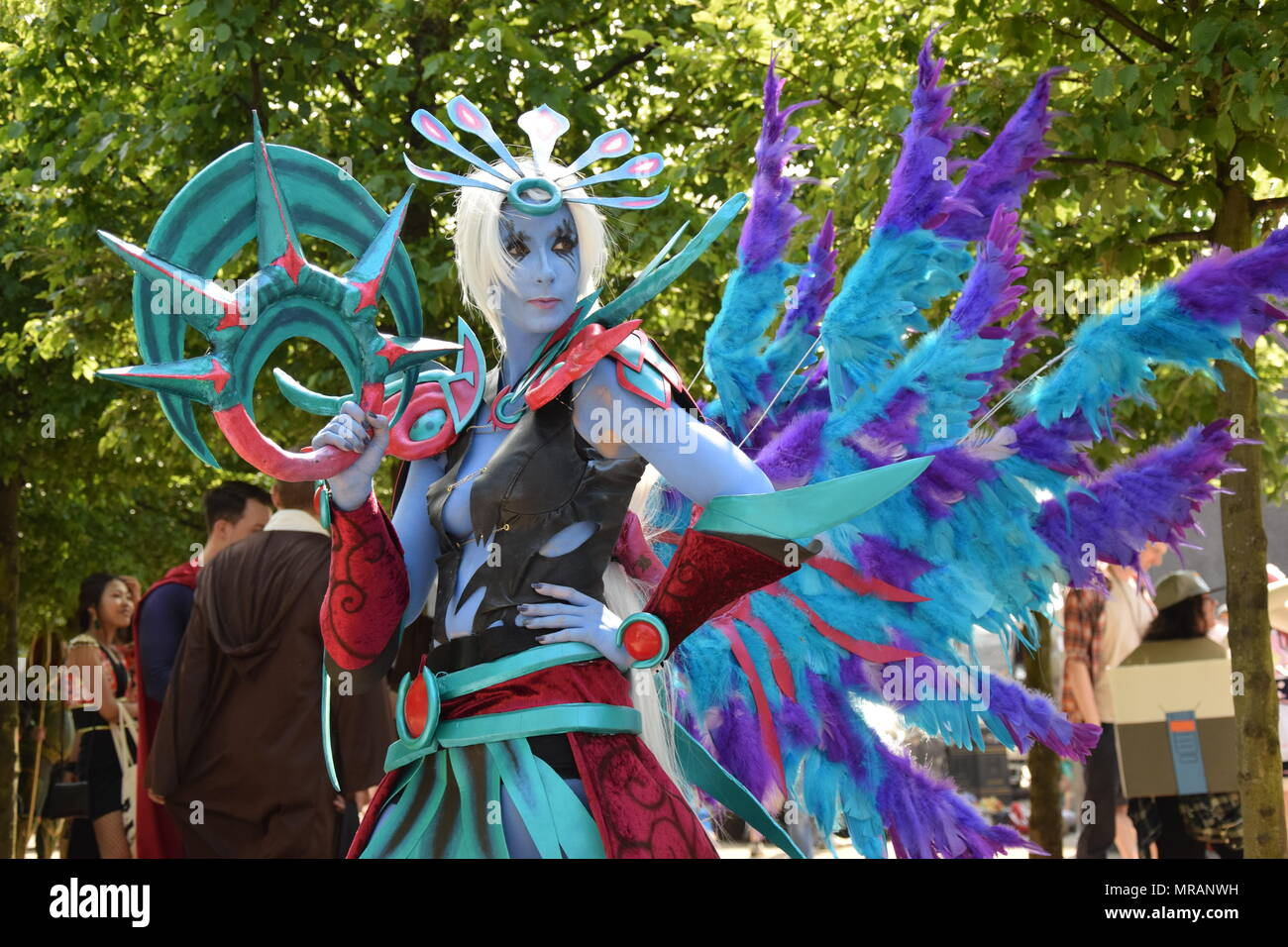 London, UK. 26th May, 2018. Comic Con Cosplay London 2018 Credit: WatfordLondon/Alamy Live News - Stock Image