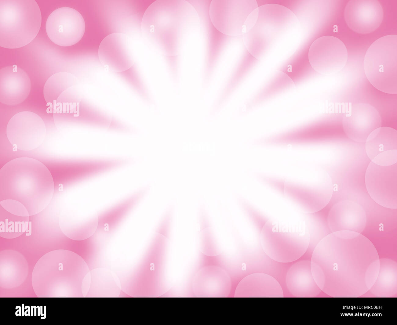 Abstract lighting white color and bokeh on pastel color copy space ...
