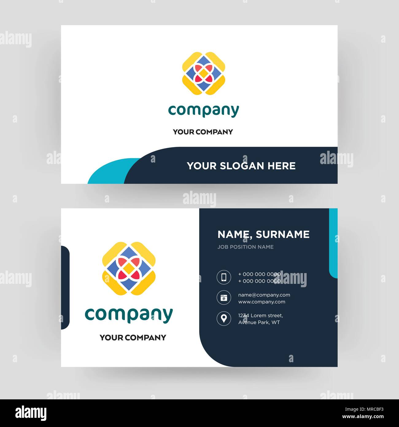 Free business card design template visiting for your company free business card design template visiting for your company modern creative and clean identity card vector fbccfo Choice Image