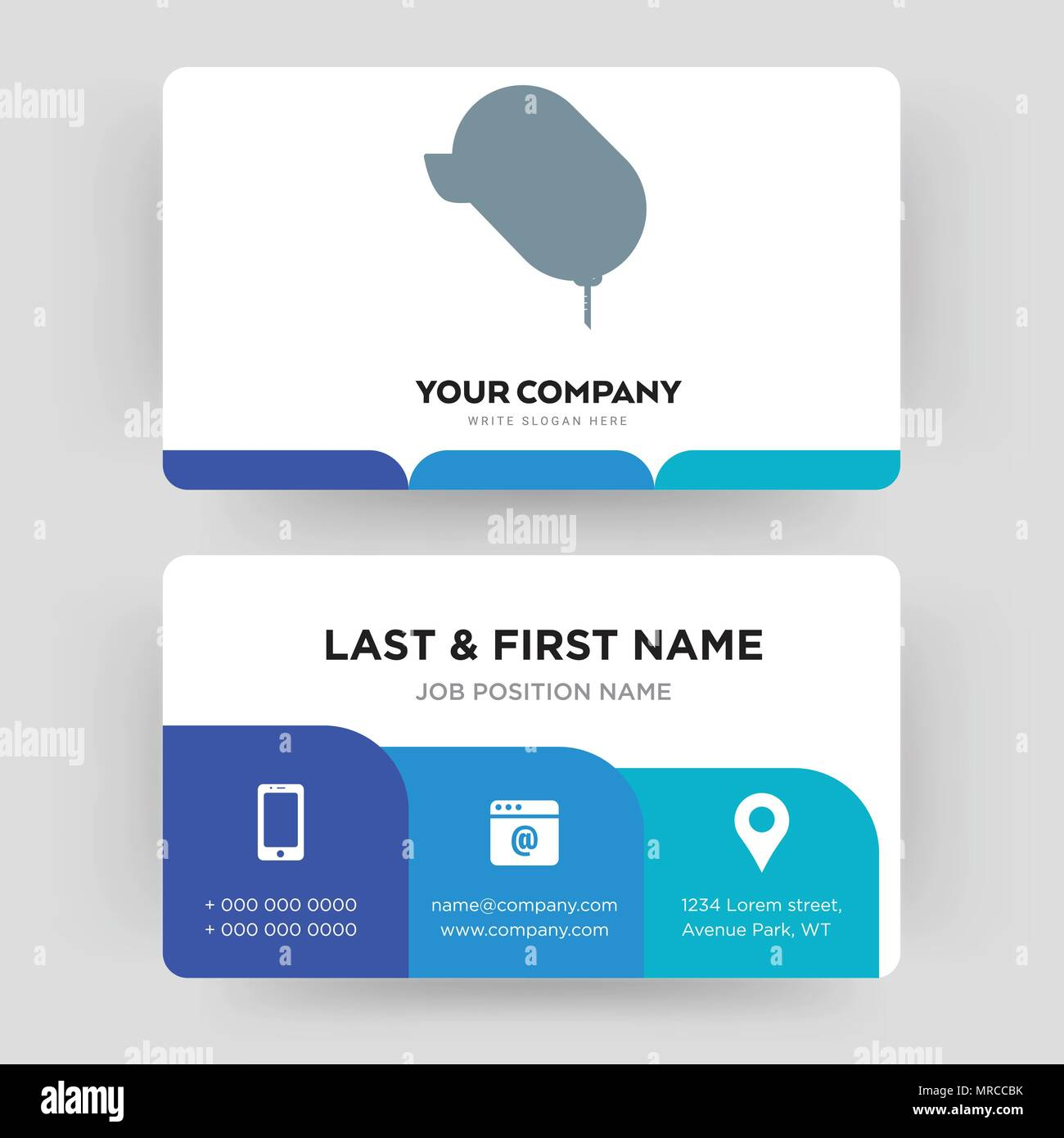 car dealer, business card design template, Visiting for your company ...