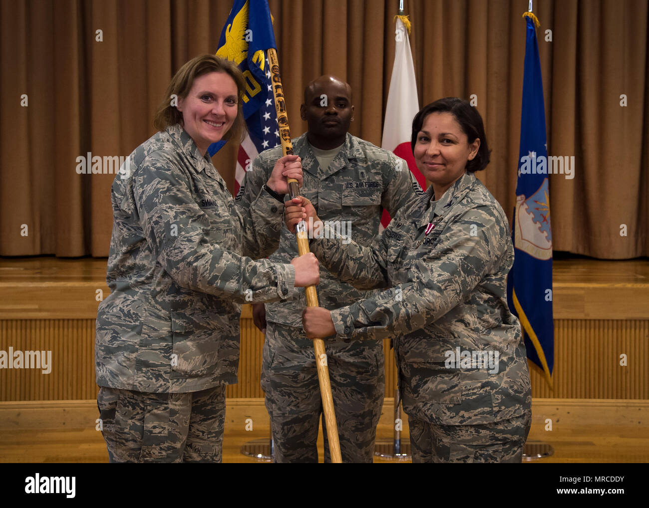u s air force col leigh swanson 35th medical group commander