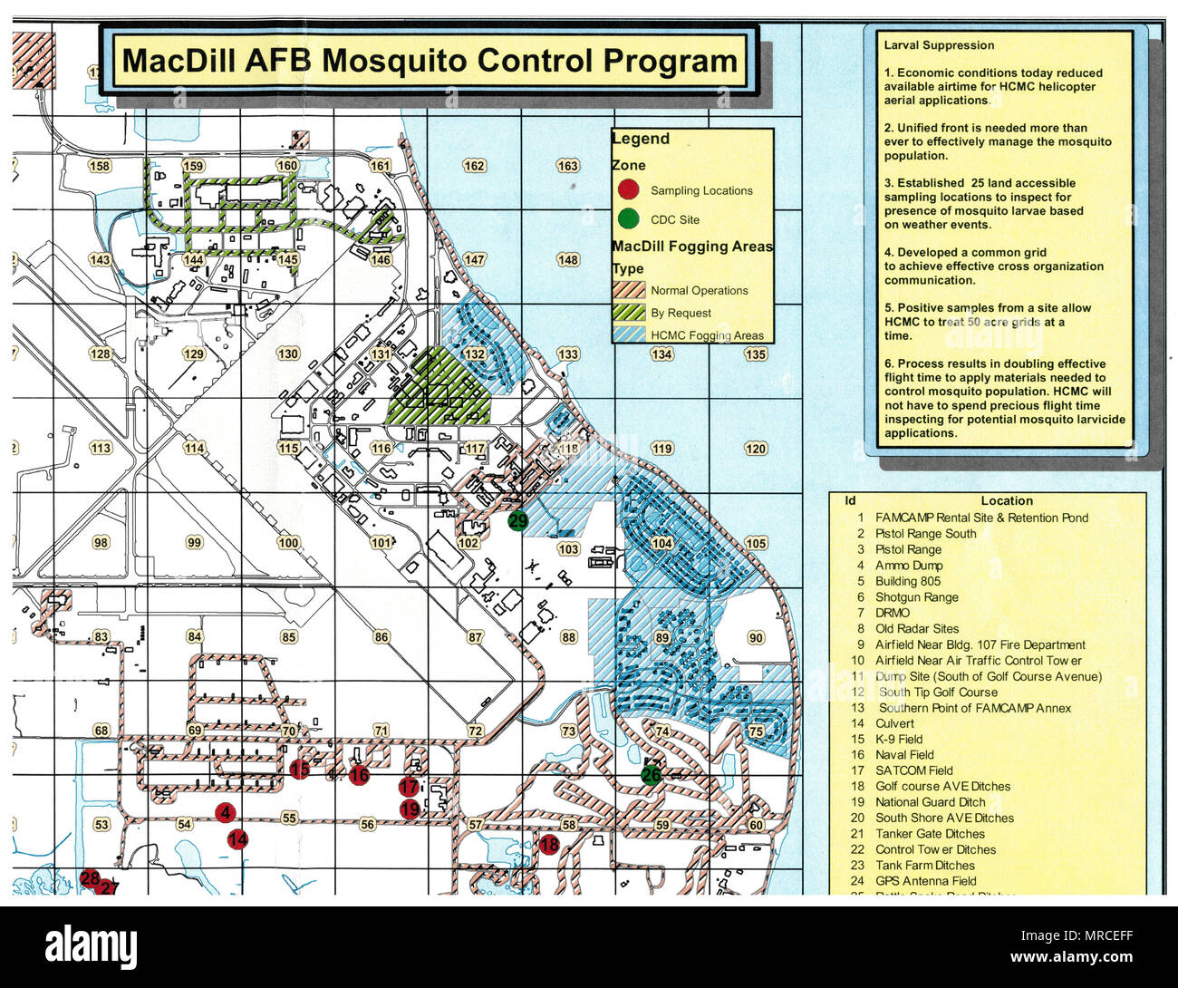 Team MacDill's Pest Management team's mosquito control