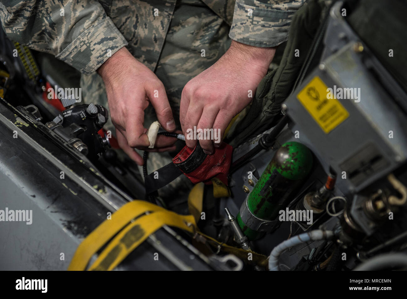 Tech. Sgt. Kevin Mayo, the 54th Maintenance Squadron egress section ...