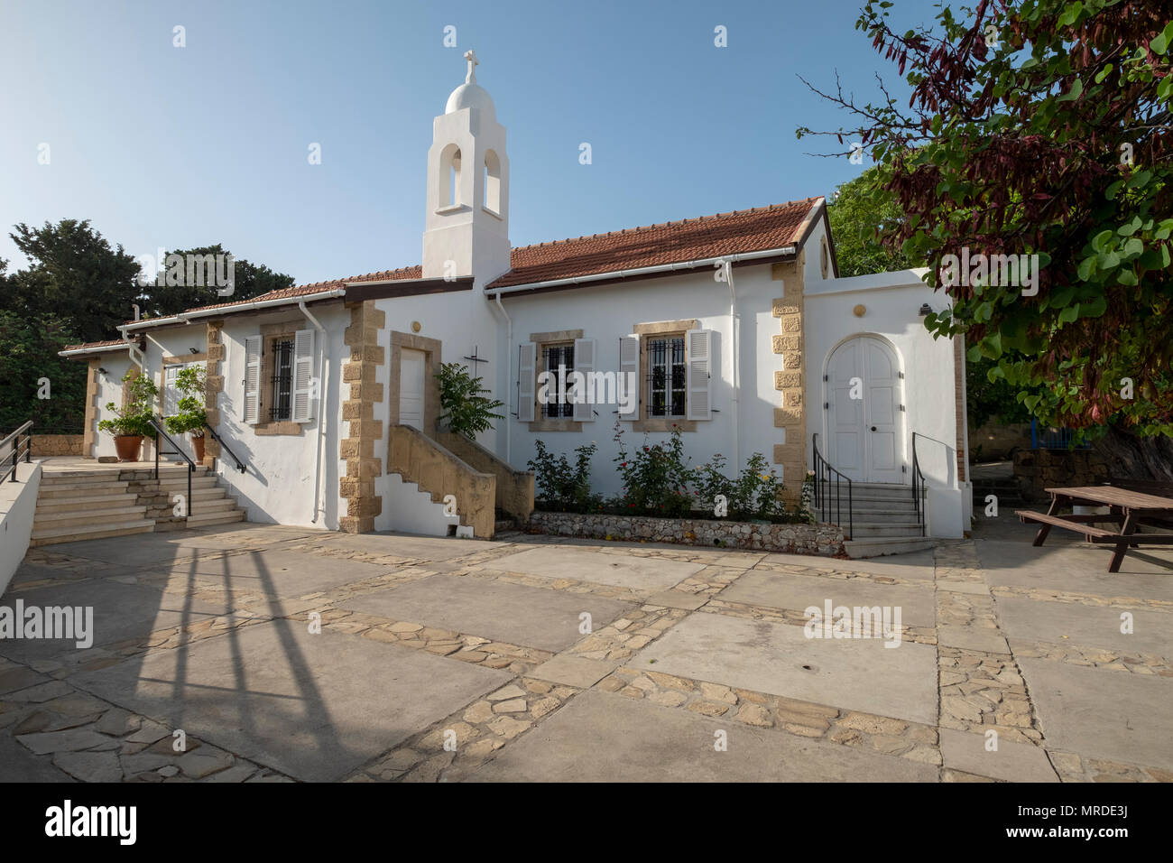 The Anglican Church of St Andrew in Kyrenia, Northern Cyprus - Stock Image