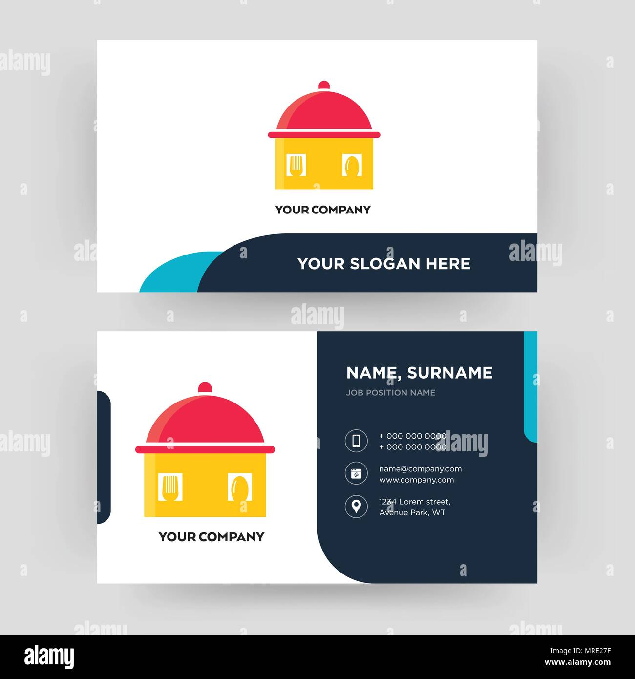 Homemade food business card design template visiting for your homemade food business card design template visiting for your company modern creative and clean identity card vector colourmoves