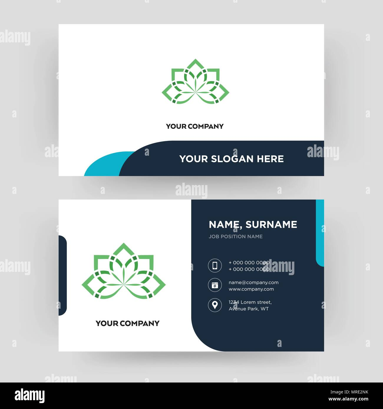 Holistic business card design template visiting for your company holistic business card design template visiting for your company modern creative and clean identity card vector colourmoves