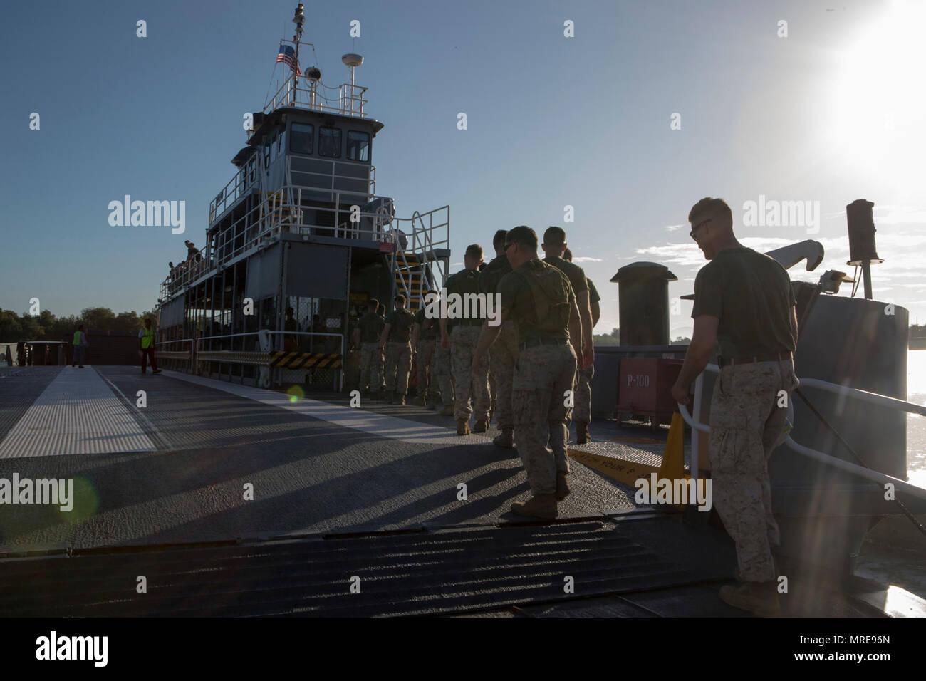 U S  Marines with 3rd Battalion, 2nd Marine Regiment, 2nd