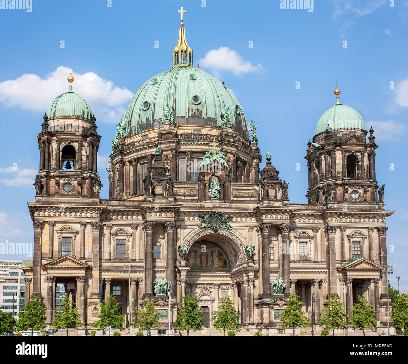 Berliner Dom Berlin Germany Berlin Cathedral Completed In 1905 And Survived World War Two Stock Photo Alamy