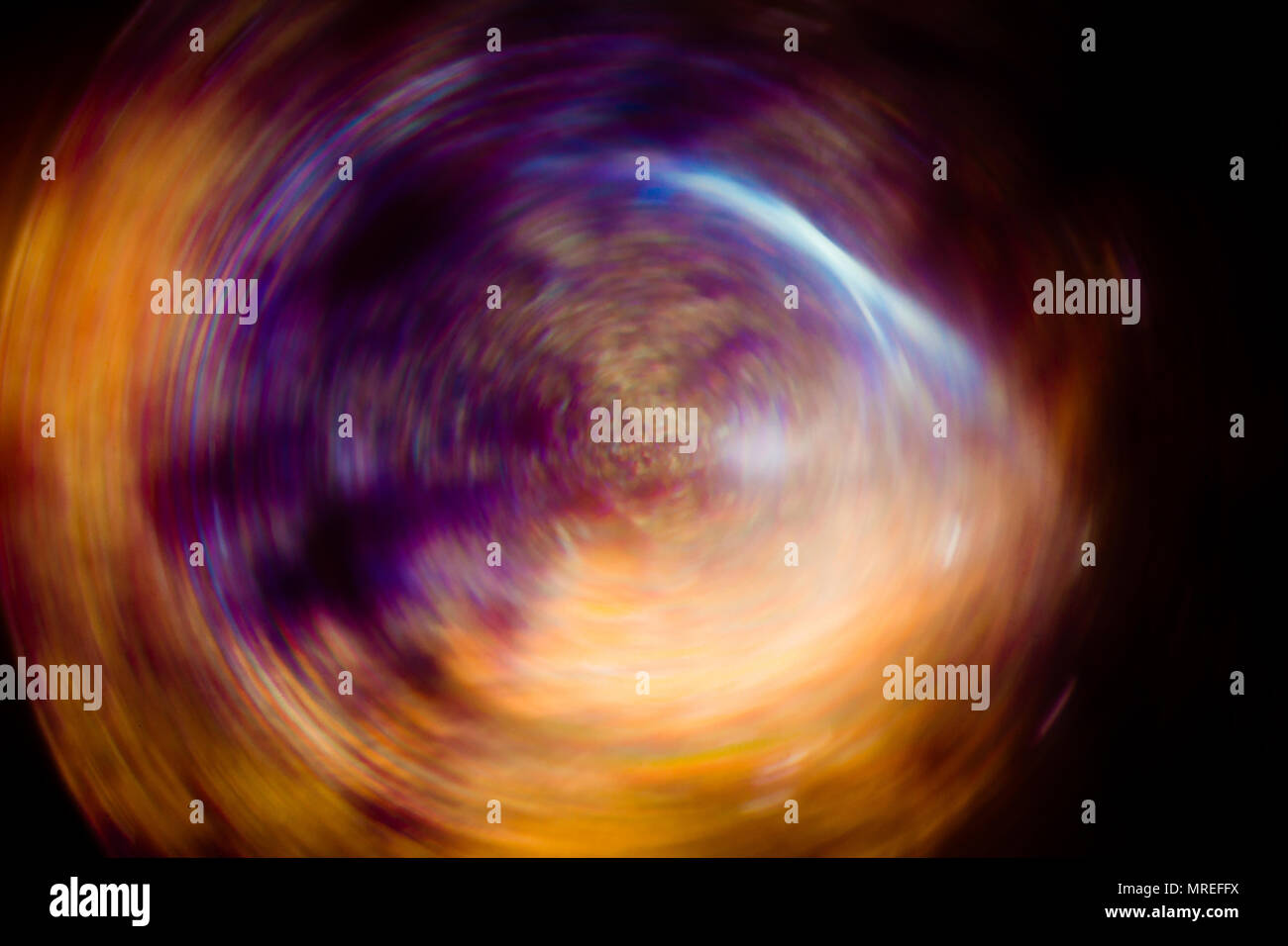 Abstract background blur color spin pattern. Stock Photo