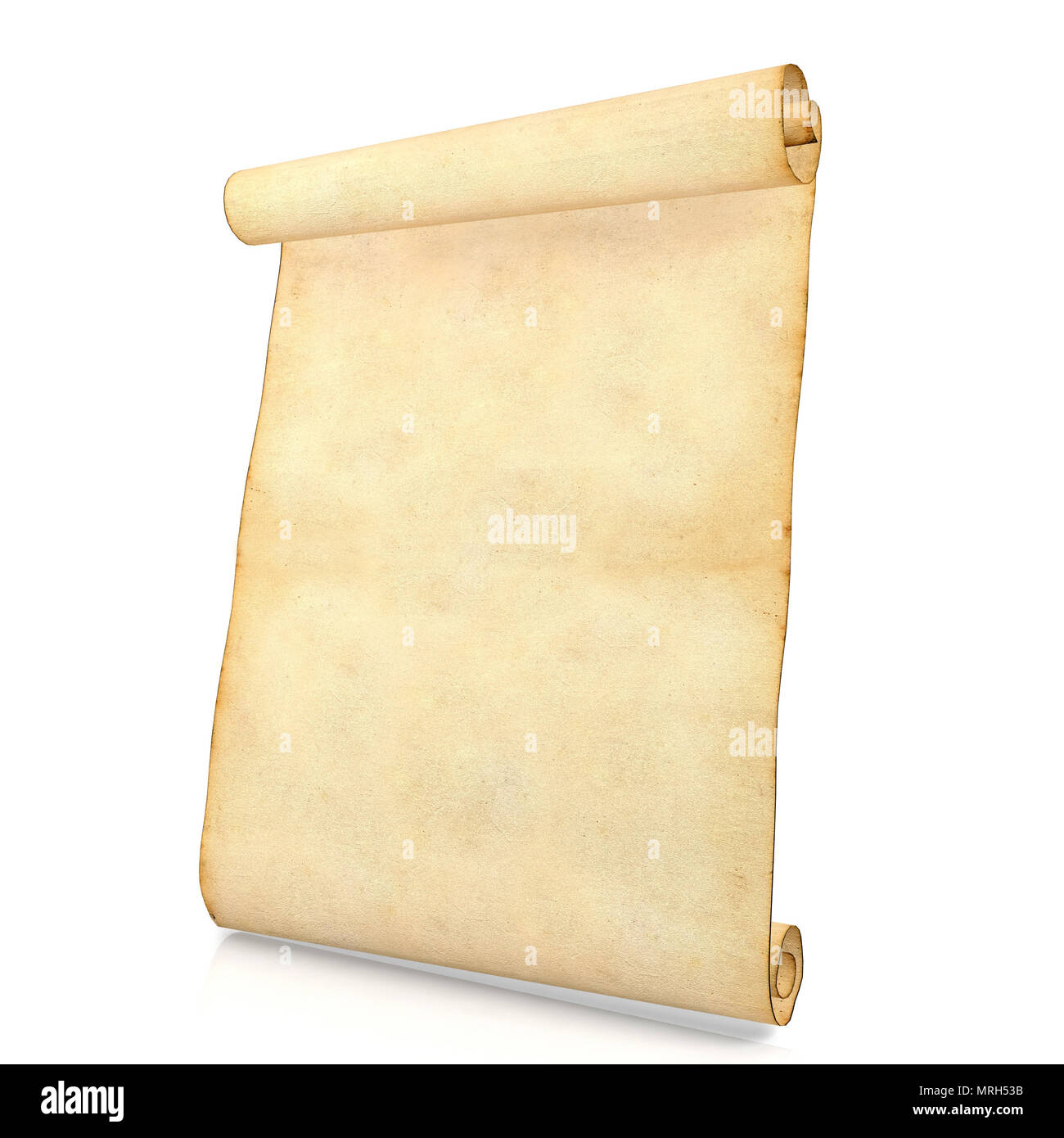 Antique Scroll Paper: Blank Scroll Cut Out Stock Images & Pictures