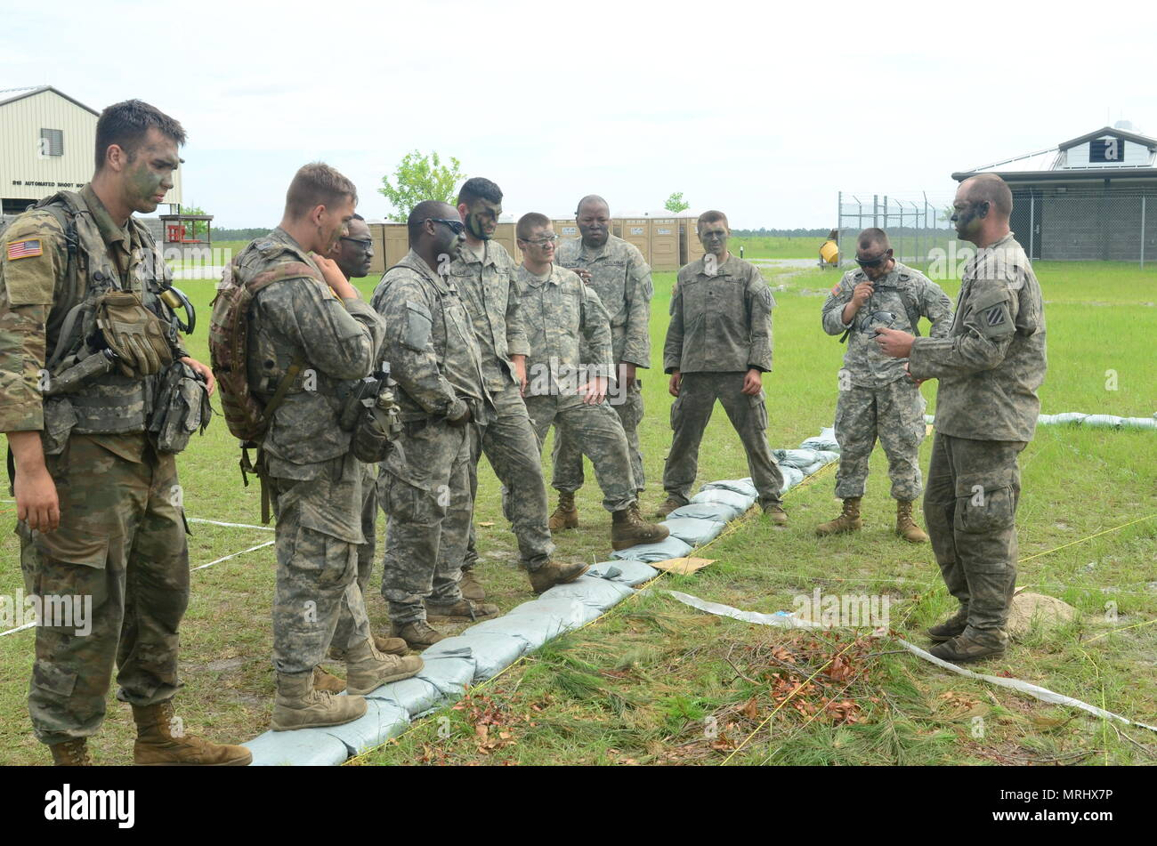 Soldiers from 2nd Battalion, 121st Infantry Regiment, 48th