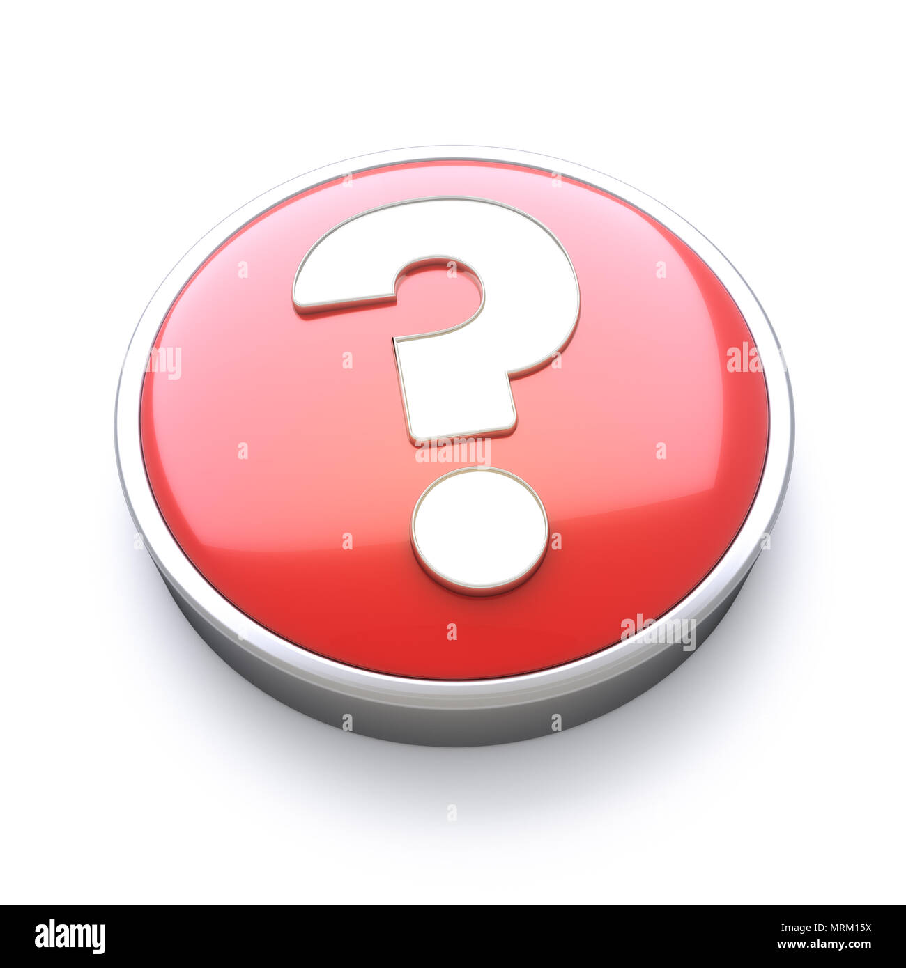 Help or question icon - Stock Image