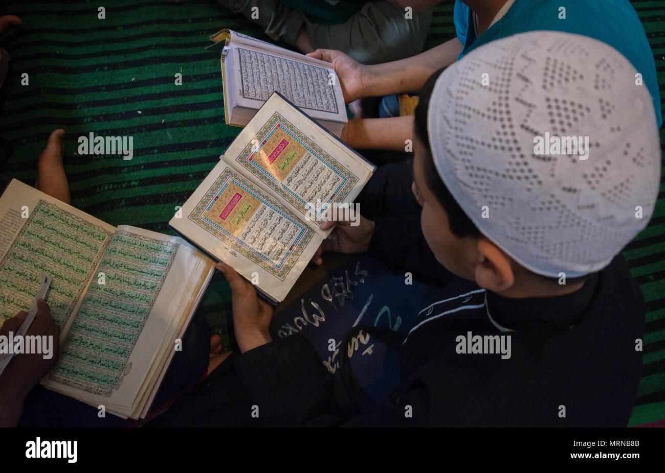 Bargah In Srinagar The Summer Capital Of Indian Administered Kashmir Ramadan Is Ninth Month Islamic According To Muslim Calendar