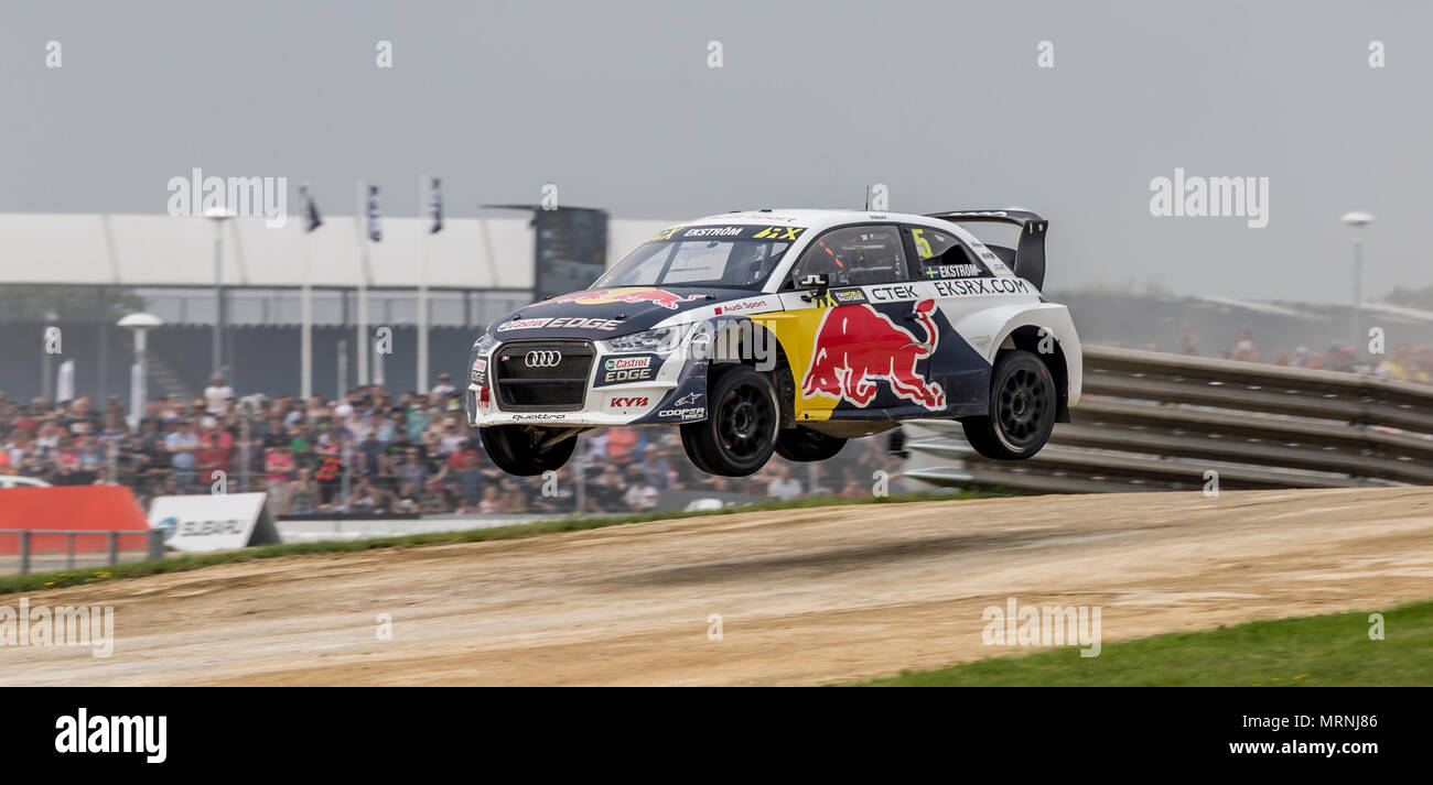 Silverstone Circuit Towcester Uk 27th May 2018 Cooper Tires World Rx Of Great Britain The Speedmachine