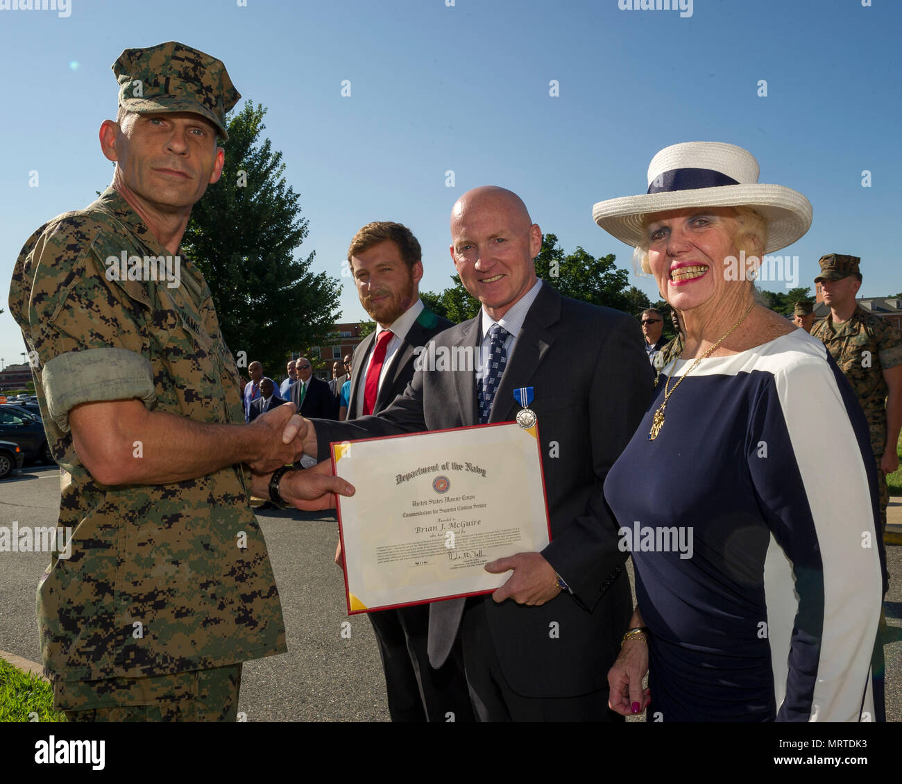 Who is the commanding general of tecom — photo 1