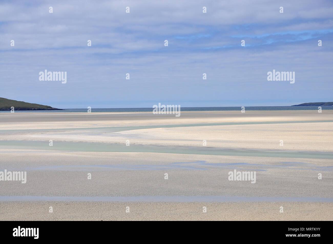 Luskentyre Isle of Harris - Stock Image