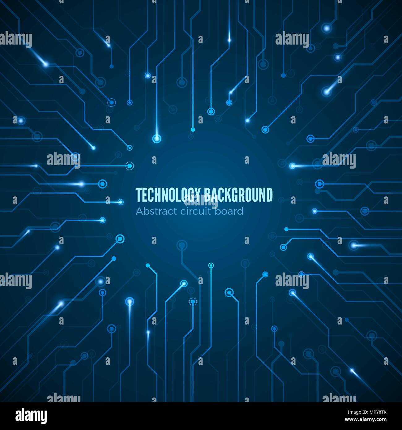 Circuit Hardware Texture Computer Chipset Connection Concept Of Mother Board Background Abstract Motherboard Vector Illustration