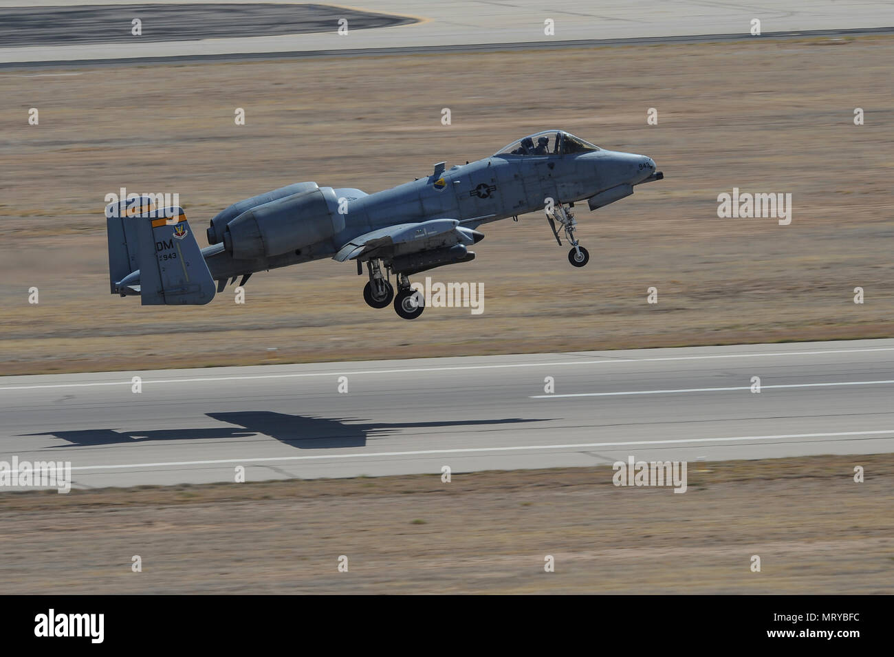 A U S  Air Force A-10C Thunderbolt II assigned to the 357th