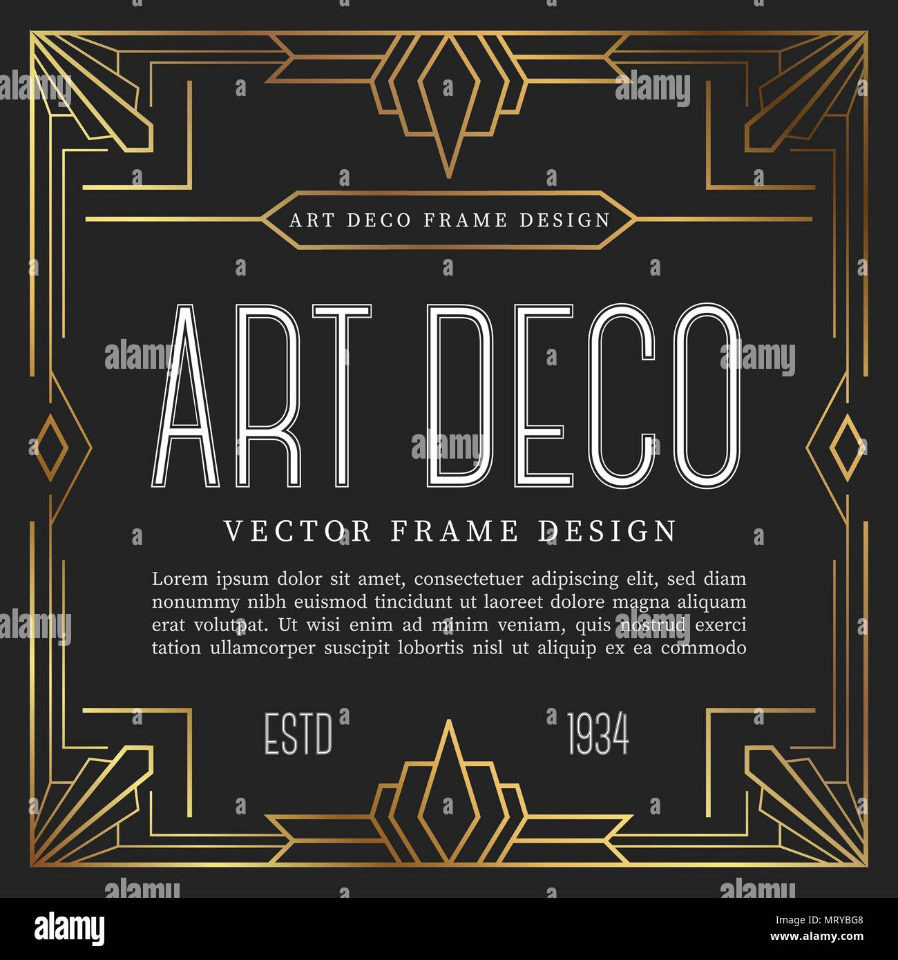 The Best Art Deco Style Picture Frames