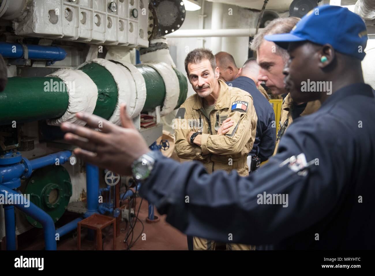 Aft Main Machinery Room Stock Photos & Aft Main Machinery Room Stock