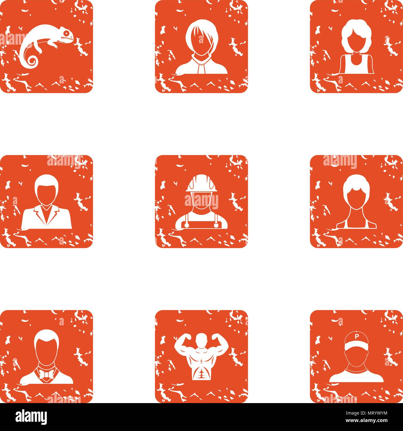 Strong Woman Worker Labor Stock Vector Images Alamy