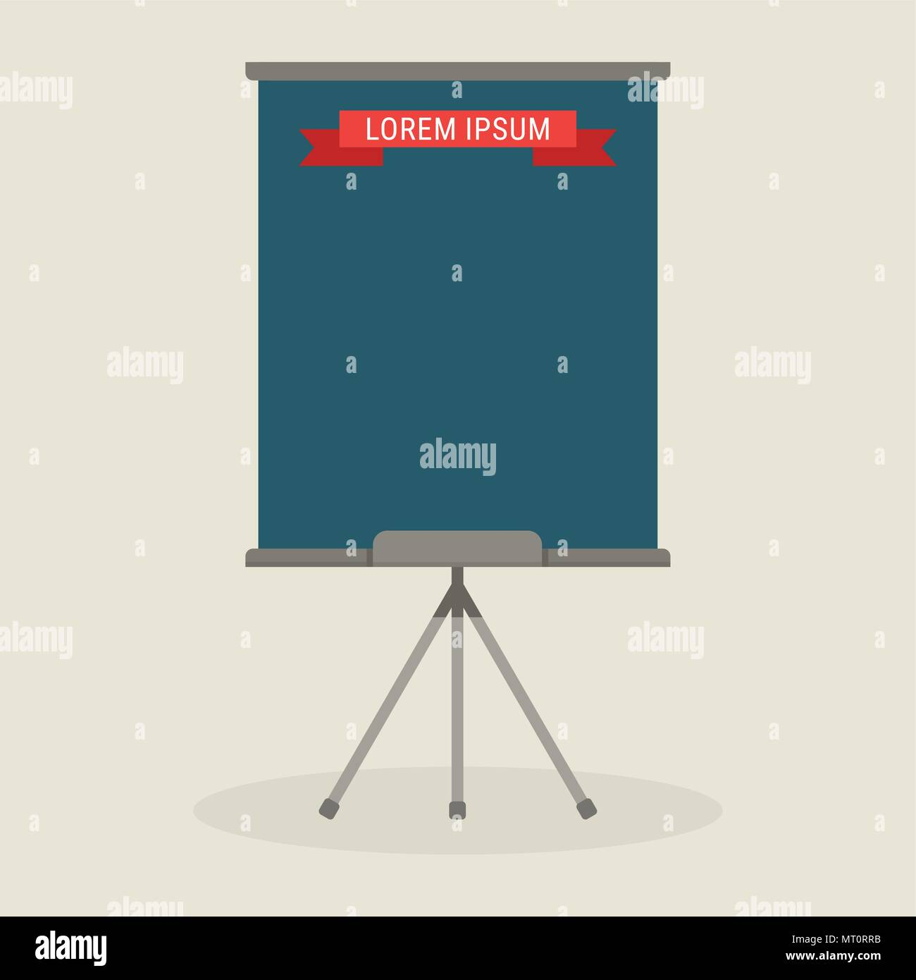 flipchart template icon stock vector art illustration vector