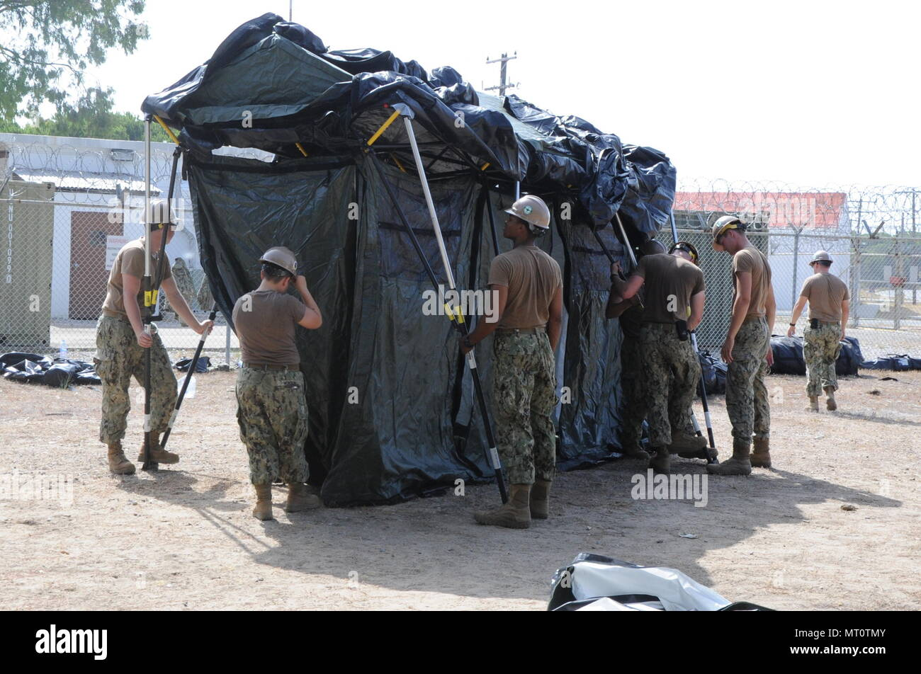 Naval Station Rota Spain July 15 2017 Seabees Assigned To Naval
