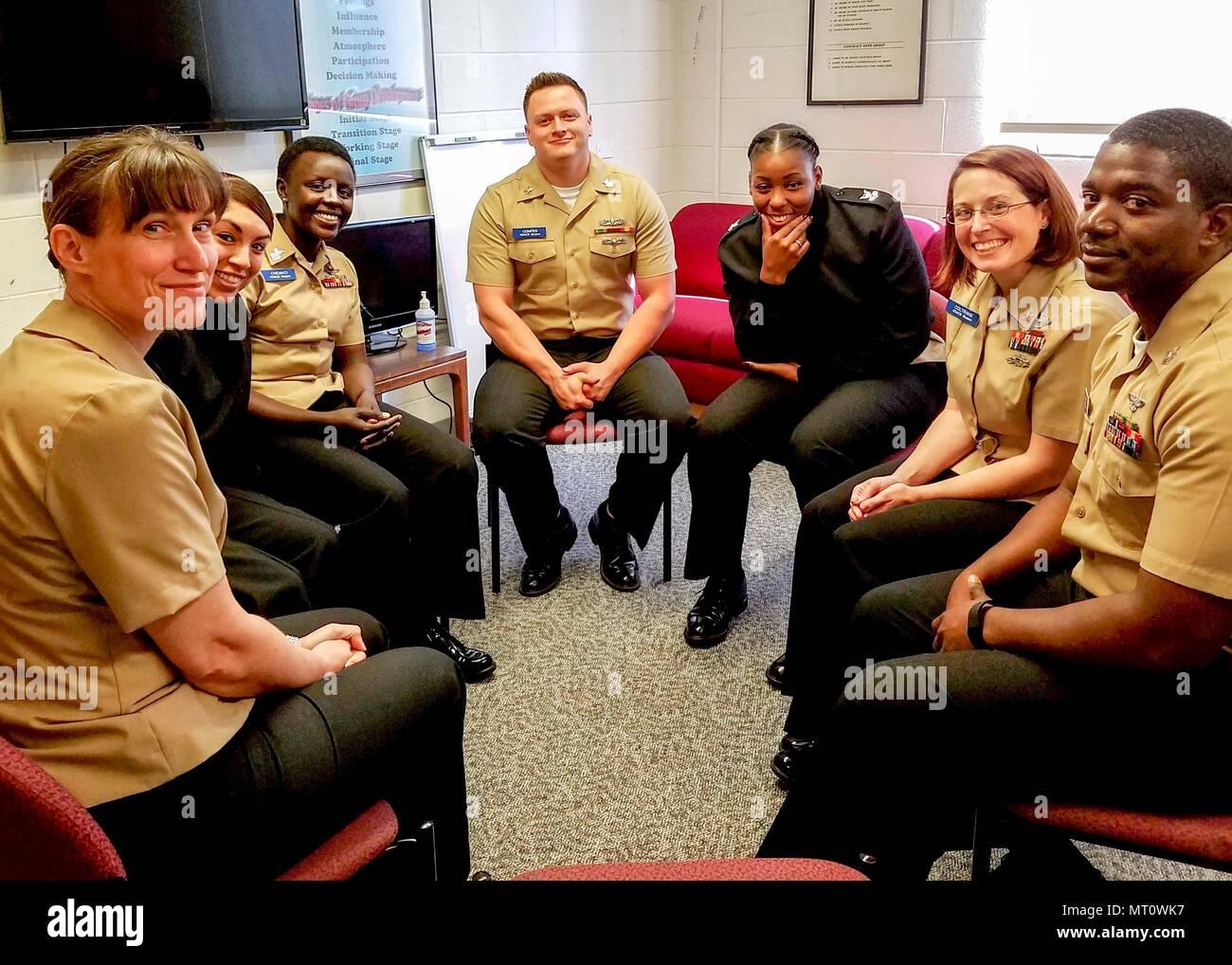 170410 N Zz999 002 San Diego April 10 2017 Sailors Attending