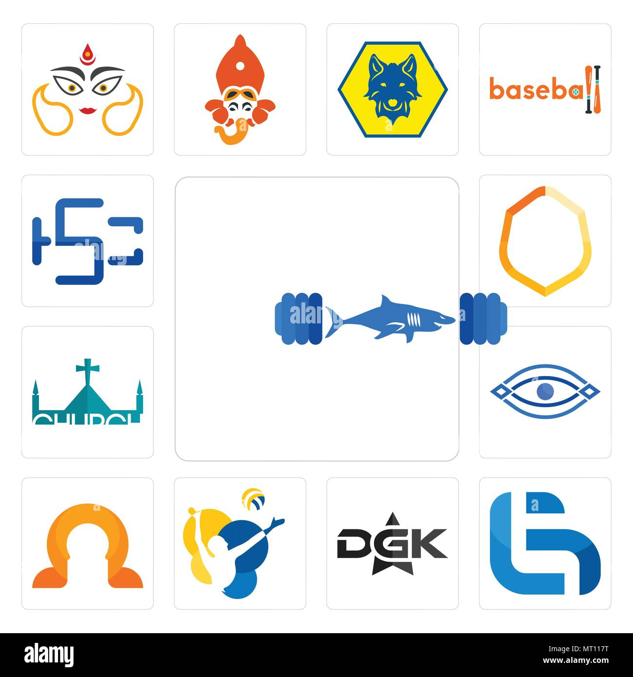 Set Of 13 Simple Editable Icons Such As Gymshark Lg Dgk