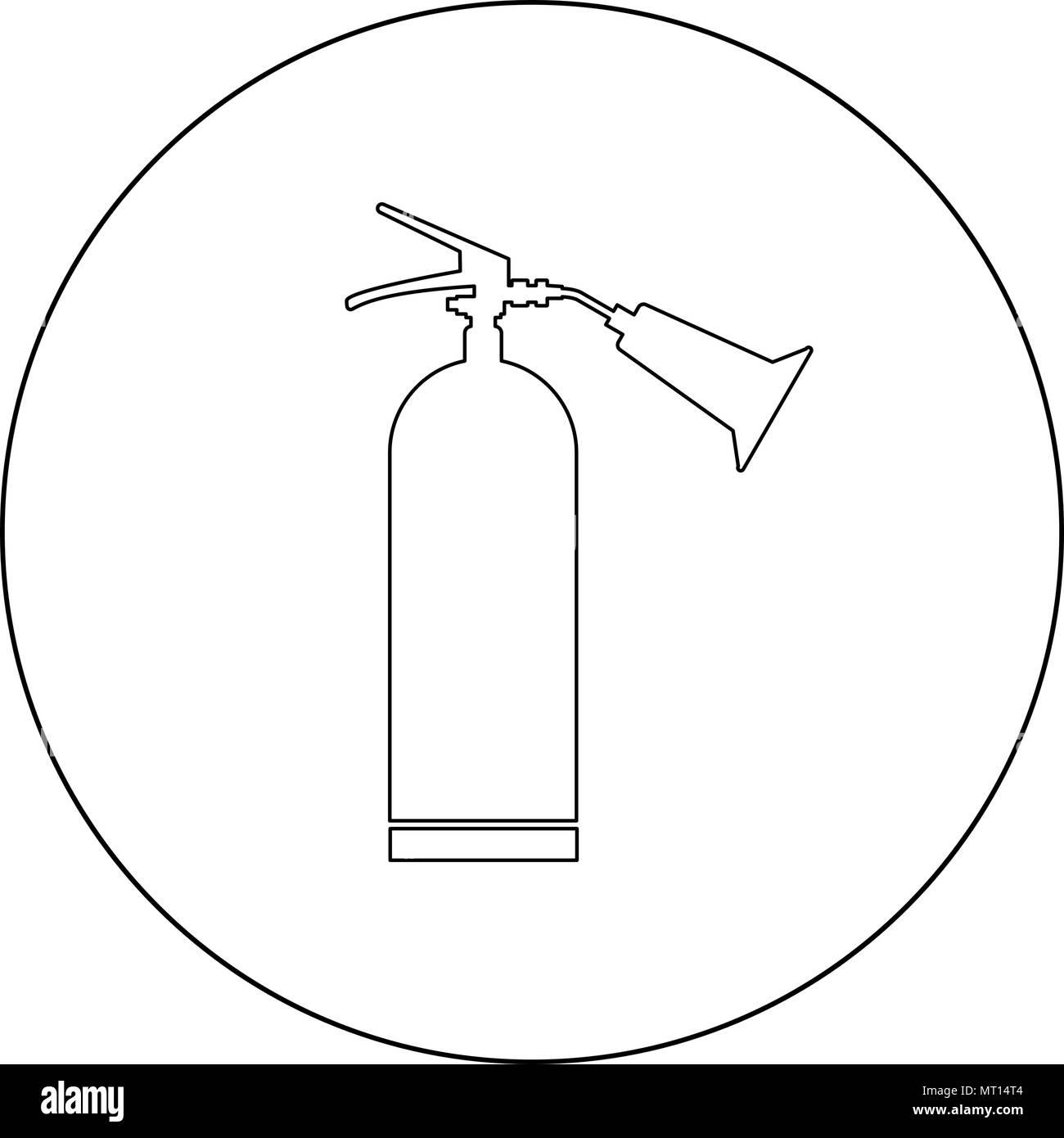 Fire Extinguisher Symbol Stock Photos & Fire Extinguisher