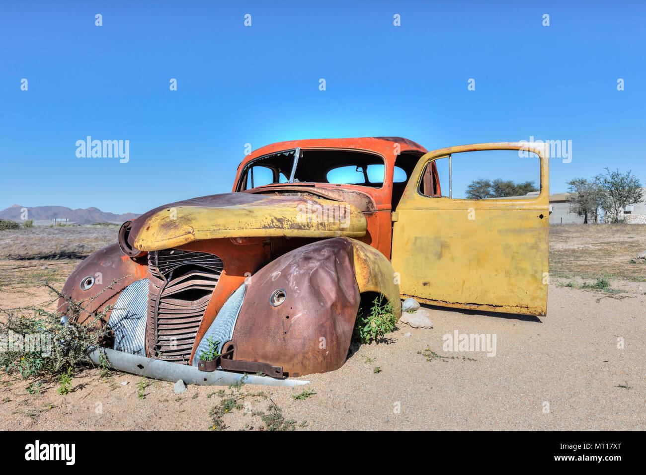 Solitaire, Khomas Region, Namib desert, Namibia, Africa - Stock Image