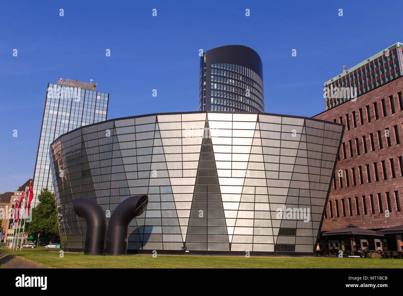 dortmund cityscape germany - Stock Image