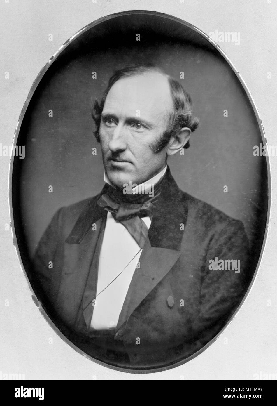 Wendell Phillips (1811 – 1884) American abolitionist and advocate for Native Americans - Stock Image