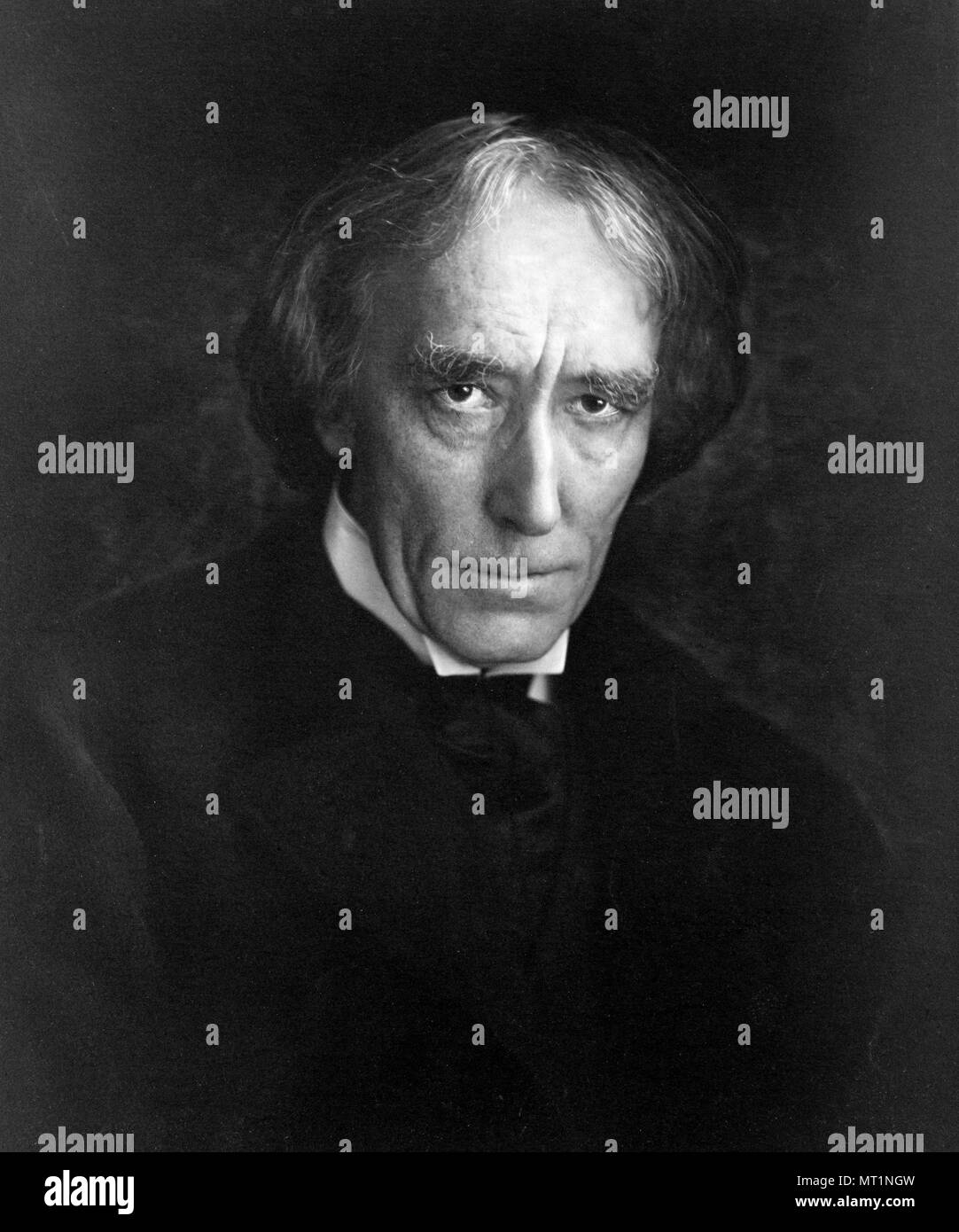 Sir Henry Irving (1838 – 1905), John Henry Brodribb, J. H. Irving, English stage actor in the Victorian era - Stock Image