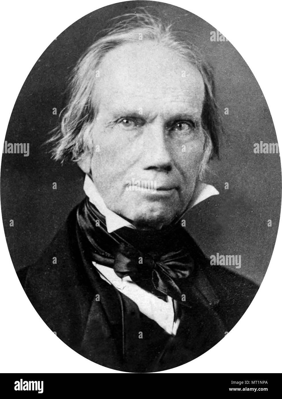 Henry Clay Sr. (1777 – 1852) American statesman - Stock Image