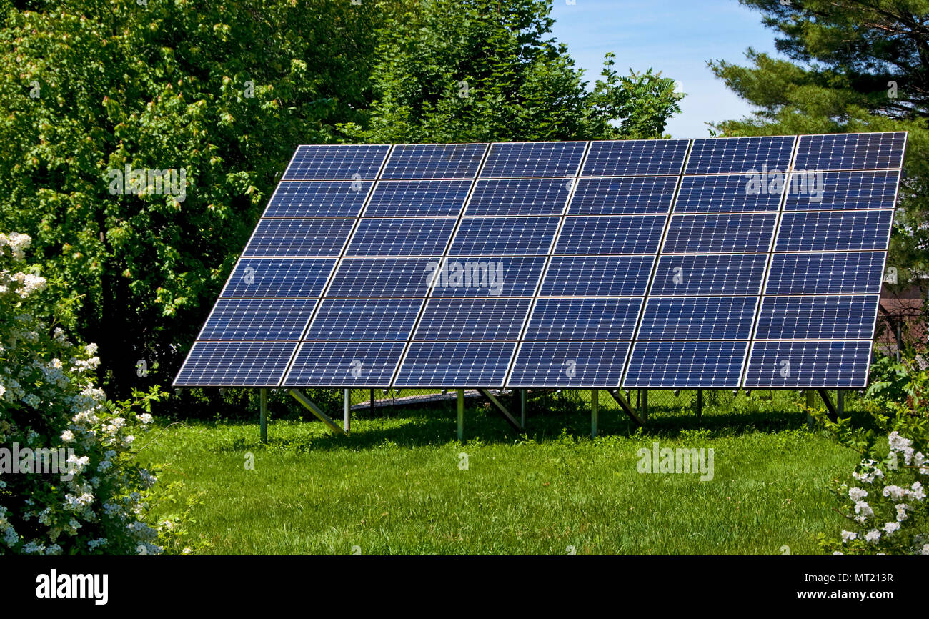 Backyard Solar Panels backyard solar panels generate electricity cutting carbon foot print
