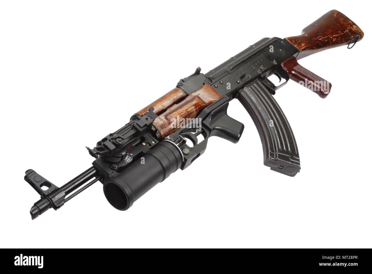 40mm Grenade Launcher Stock Photos & 40mm Grenade Launcher Stock
