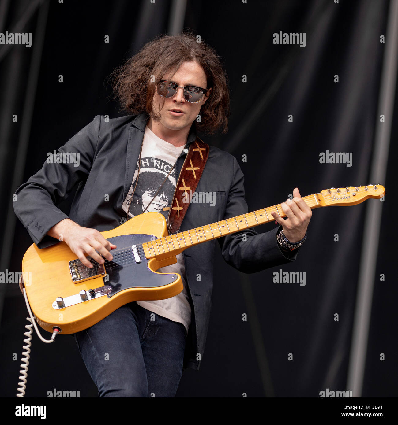 Napa, California, USA. 26th May, 2018. HAMISH ANDERSON during BottleRock Music Festival at Napa Valley Expo in Napa, California Credit: Daniel DeSlover/ZUMA Wire/Alamy Live News - Stock Image