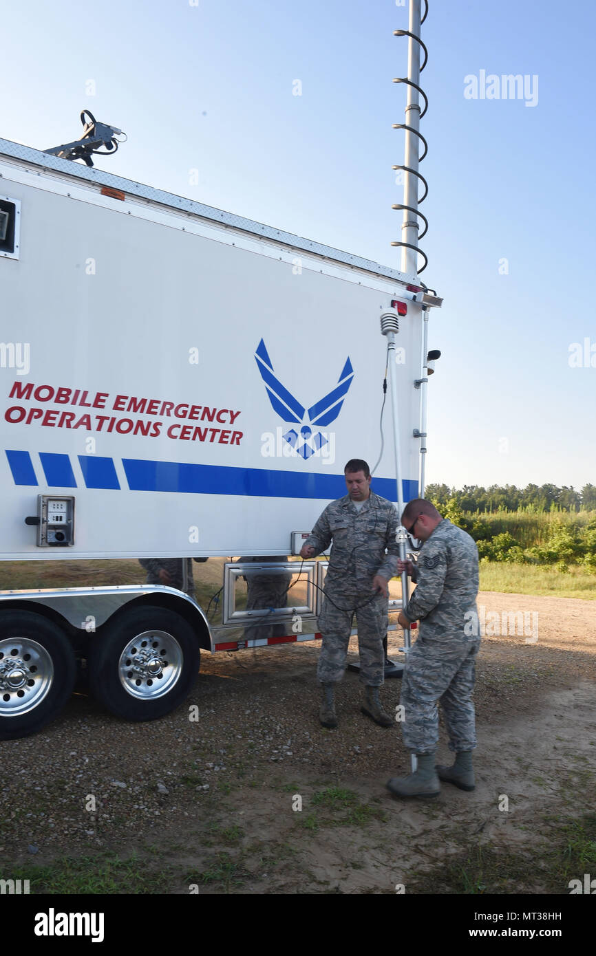 Mobile Emergency Operations Center Stock Photos & Mobile