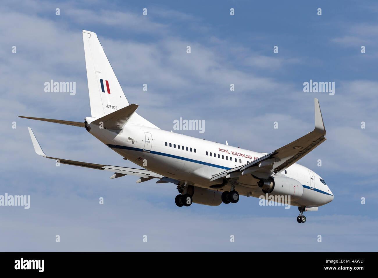 Royal Australian Air Force (RAAF) Boeing 737-7DF VIP