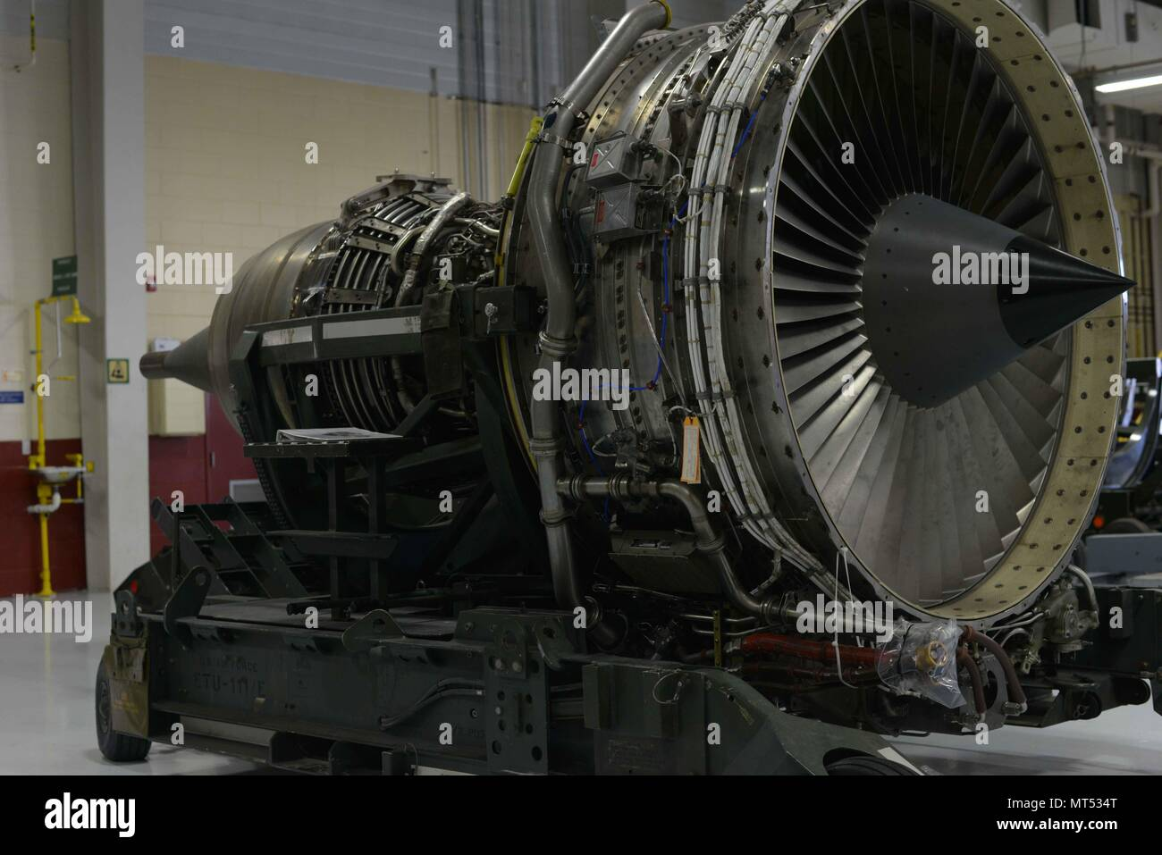 Axial Flow Stock Photos Images Alamy Jet Engine Diagram Of An Axialflow A United States Air Force Spare F108 Cf 100 For Kc