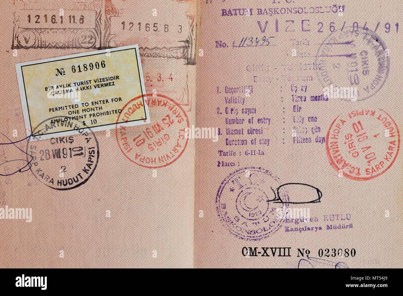 Passport Stock Photos & Passport Stock Images - Alamy