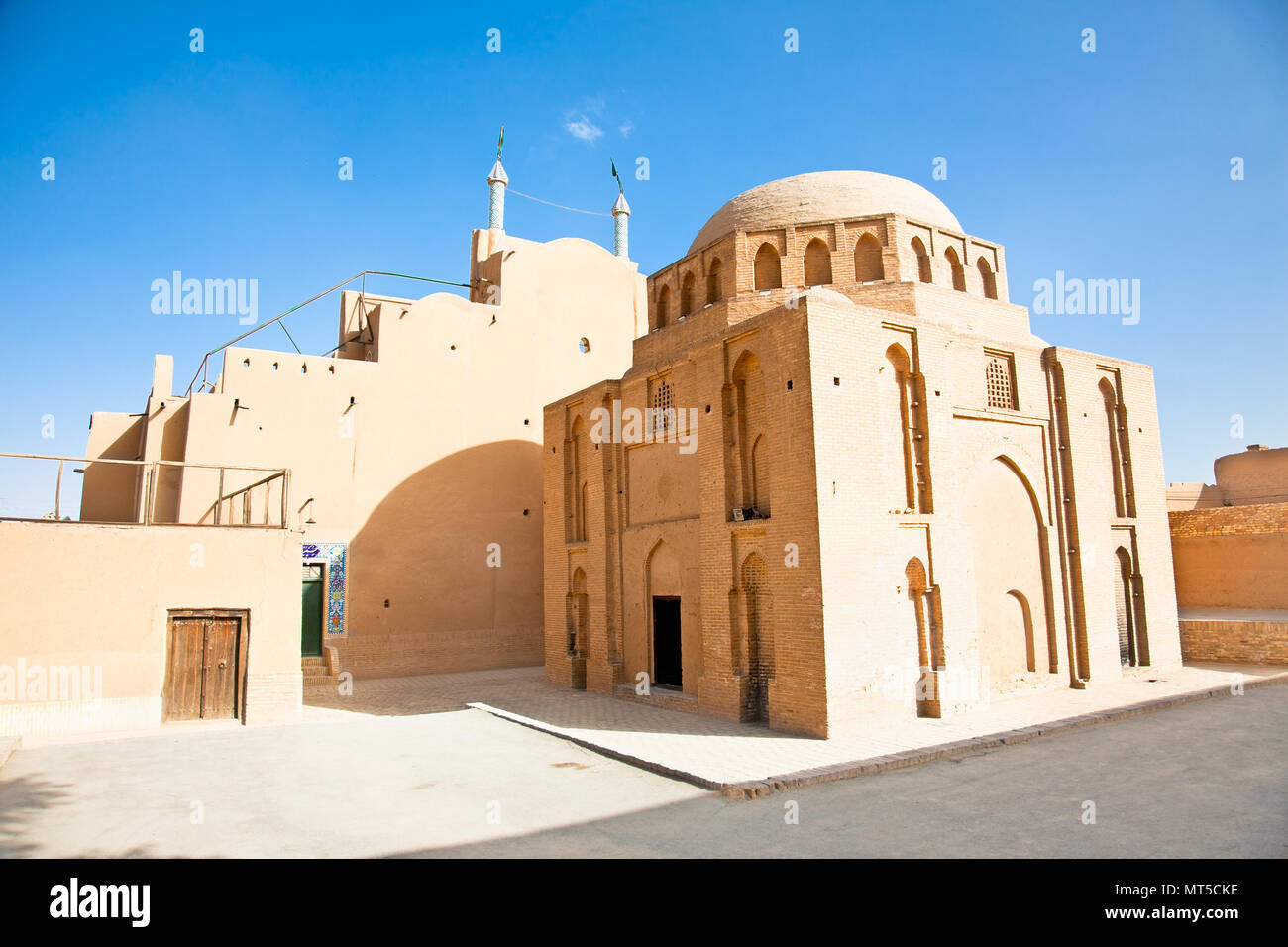 Tomb of 12 Shiite Imams  in Yazd, Iran - Stock Image