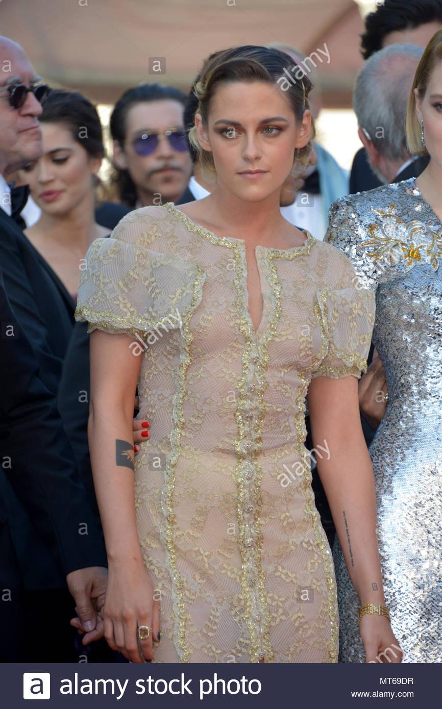 Kristen Stewart, Lea Seydoux 71st cannes film festival 2018 - Stock Image