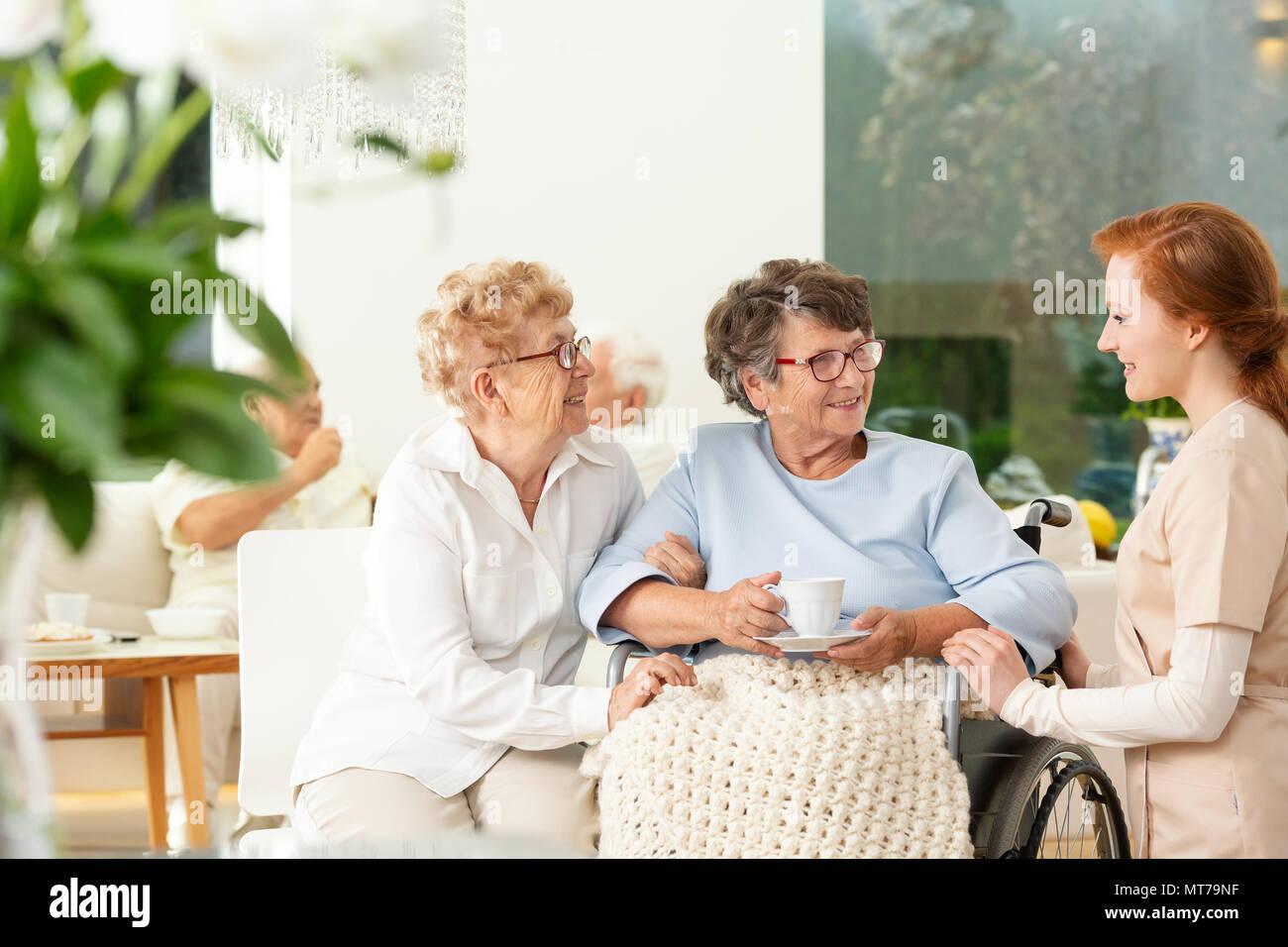 Paraplegic Nurse Stock Photos & Paraplegic Nurse Stock