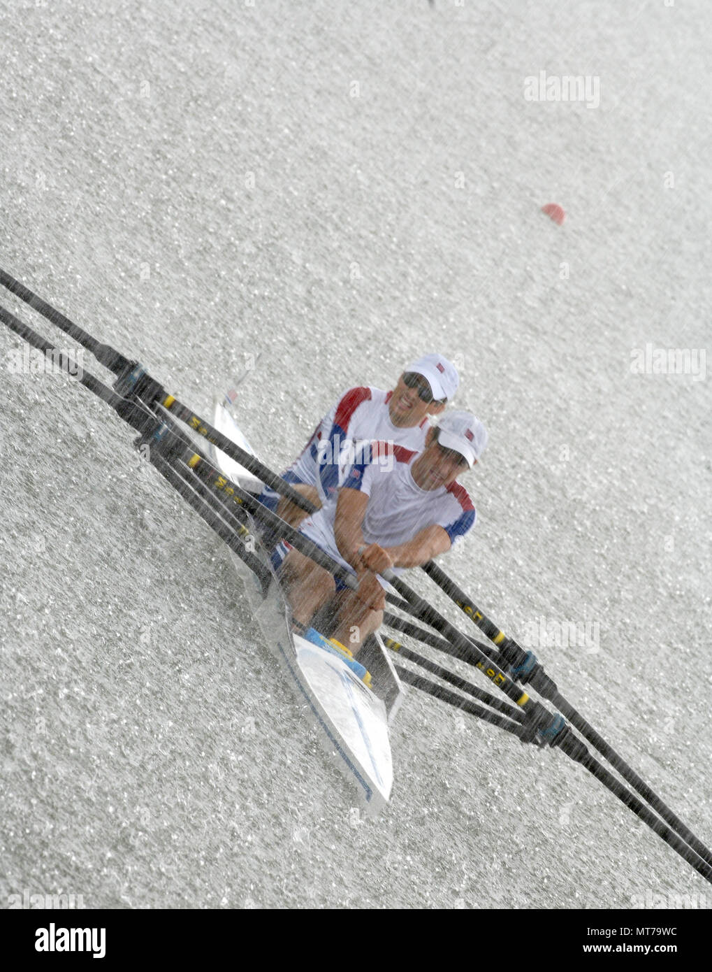 Eton GREAT BRITAIN 2006 World Rowing Championships 21 08 C Peter SPURRIER Peterspurriergmail GBR LM2X Bow James LINDSAY FYNN