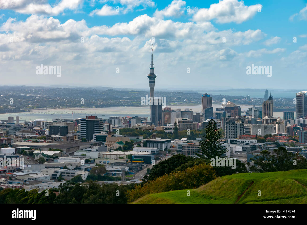 Mount Eden, Auckland, North Island, New Zealand - Stock Image