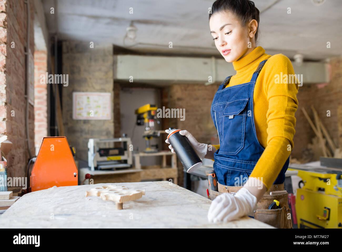 Creative Woodwork - Stock Image